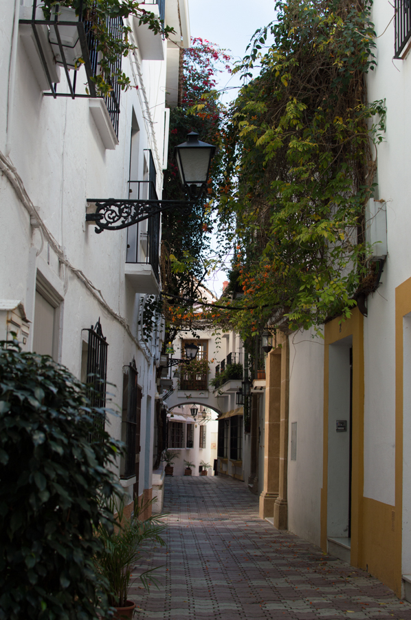Marbella old city street