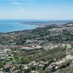 Costa del sol birds eye view